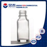 Botella de cristal de la vela del claro caliente del aceite esencial