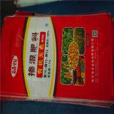 Bolso modificado para requisitos particulares nueva manera del bolsillo/del fertilizante de la válvula de los PP