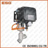 Esg比例した制御角度のシート弁