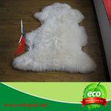 Coperta reale del Lambskin della coperta della pelle di pecora di 100%