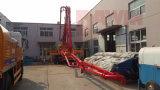 pompe de boum de camion de pompe concrète de chaîne de travail de 28m