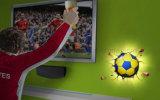 Licht van de Nacht van de Vorm van de voetbal het Decoratieve