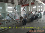 Paralelo de doble tornillo WPC Pelletizing Machine