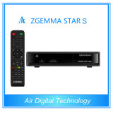 Zgemma 별 S 리눅스는 DVB-S2 HD 인공 위성 수신 장치의 기초를 두었다