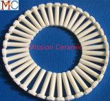 Tuerca de cerámica elevada de encargo al por mayor del tornillo de la pureza Al2O3