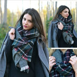 方法女性100%年のカシミヤ織のスカーフの女性のKnitedの新しいLuxuryスカーフ