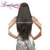 Могут быть покрашенные оптовые бразильские волосы Remy людские шелковистые прямые