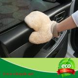 Перчатка мытья автомобиля шерсти овчины Китая вся