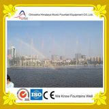 Большой фонтан нот воды пруда проекта