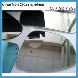 vidrio del espejo de coche de 1.8m m 2m m