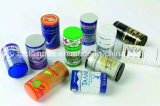Cápsulas de calidad superior de aluminio de las cápsulas de vino del tornillo de metal de Ropp/del tornillo de la fuente 30*60 milímetro de la fábrica con la insignia impresa/tapa