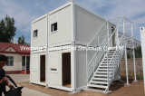 日本のWallの20ft Container Hosue Being DecoratedおよびRood Cladding