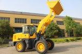 Machines de construction de machine de route 3 tonnes de chargeur de roue avec la bonne qualité