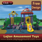 Alta qualidade Low Cost Outdoor Children Playground com CE Quality