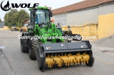 Hohes Flow Wheel Loader mit Mulcher