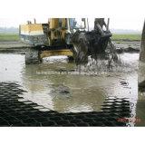 Red de la grava de la calzada de Geocell de la pavimentadora de la protección de la hierba del HDPE