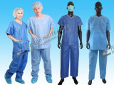 Suits 또는 Medicla Scrub Suits/Disposable Scrub Suits를 제거하십시오