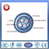 4 Cores Steel Wire Armored Electric Wire와 Cable