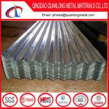 Feuille ondulée de toiture de Gi galvanisée par zinc