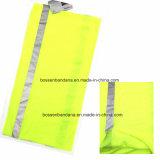 Fascia giallo cuoio senza giunte multifunzionale di Microfiber del poliestere su ordine della tintura