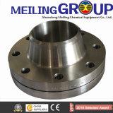 La flangia del collo della saldatura del acciaio al carbonio di A105n ha forgiato la flangia a ASME B16.5 (KT0010)