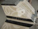 Medaglione di marmo Waterjet (SP0030)