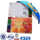 Customed alta calidad 3D lenticular postal