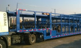 중국 2 Alxles 수출용 자동차 운반선 트레일러