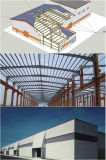 Большое Span полуфабрикат Steel Structure для Workshop/Warehouse