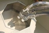 Automatisches Rollen-Korb-Sandstrahlgerät