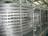 Замораживатель IQF двойной спиральн для продуктов моря печенья