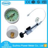 Pression de mesure de l'oxygène de plastique du diamètre 40mm pour le gonfleur