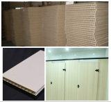 Ligne de machine à l'extrusion de porte en plastique en bois