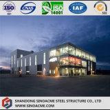 Structure métallique d'étage multi pour l'exposition hall commerciale