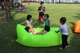 膨脹可能で不精な椅子または浜の日曜日のLoungerまたは豆袋のLoungersの浮遊