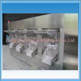Machine de rôtissoire d'arachide d'acier inoxydable