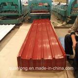 Lamiera sottile d'acciaio preverniciata del tetto di colore