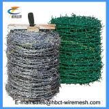 Горячие сбывания гальванизированные или утюги PVC колючий провод