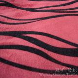 Tissu à la maison de velours de Flocing de pile de circuit de textile pour le sofa