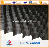 Plastic HDPE pp Geocell voor Retaining Wall