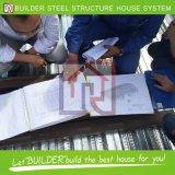 Magazzino montato facile del gruppo di lavoro della struttura d'acciaio di alta qualità