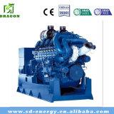 500のKw ISOの品質規格のエネルギー効率が良い天燃ガスの発電機