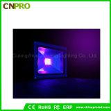 L'inondazione UV chiara nera o grigia 10W dell'alloggiamento LED con IP65 impermeabilizza il chip di Epistar
