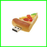 Pizza USB Pendrive de mémoire Flash d'OEM