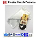 Носки цветастого печатание пластичные упаковывая мешок с застежкой -молнией