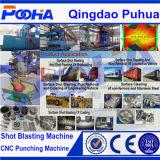 Förderanlagen-Typ Verkaufs-Reinigungs-Maschine der Rollen-Q69 der Granaliengebläse-Maschinen-2017 heiße