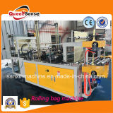 Controle de Computador Double Layer Point Cutting Rolling Bag Making Machine