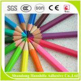 Colagem maravilhosa da cor e da forma para o lápis