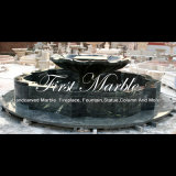 Fontana di marmo verde per un regalo Mf-1002