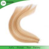 Cabelo da fita do cabelo humano de Remy na extensão européia do cabelo do tamanho de 4cmx1cm